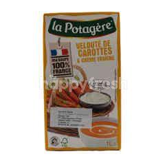 La Potagere Sup Wortel, Sayuran dan Krim Fraiche