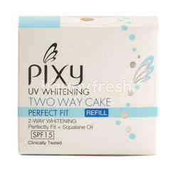 Pixy Uv Whitening Two Way Cake Tropical Beige Refill
