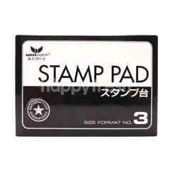 Unicorn Stamp Pad Size Format No.3 Black