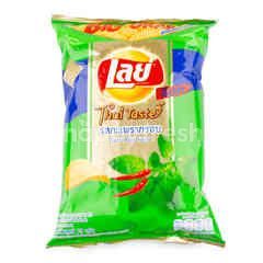 Lay's Rock Potato Chips Sweet Basil Flavour Big Grab
