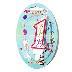 Roda Numeral Candles (1)
