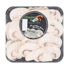 Champ Fungi Sliced White Button Mushroom
