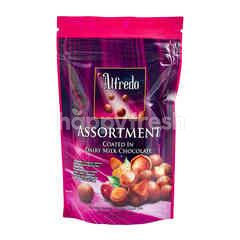 Alfredo Assortment Coated in Milk Chocolate