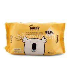 เบบี้ โมบี้ คอตต้อน 99.99% ผ้าเช็ดทำความสะอาด