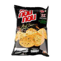 Kob Kob Ridged Cut Nori Seaweed Potato Chips