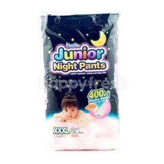 MamyPoko Junior Night Baby Girl Pants Diapers XXXL (24 pieces)