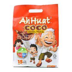 Ah Huat Coco Chocolate Malt Drink (15 Packet)