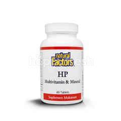 Natural Factor HP Multivitamin dan Mineral (60 tablets)