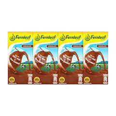 FERNLEAF Chocolate UHT Recombined Milk (4 Pieces)