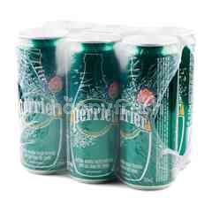 Perrier Sparkling Natural Mineral Water 330 ml X 6 Pcs.