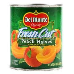 Del Monte Potongan Buah Persik dalam Sirup