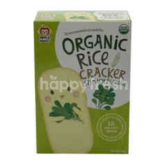 Apple Monkey Organic Rice Crackers Spinach Flavour