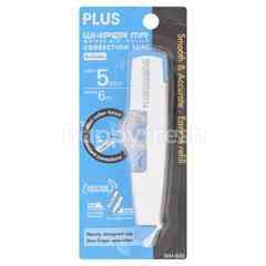 Plus Whiper Mr Correction Tape - Refillable - Wh-605