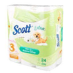 Scott Extra Roll Super Jumbo Roll Tissue
