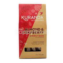 Kuranda Almond & Cranberry Energy Bars With Amaranth (5 Pieces)