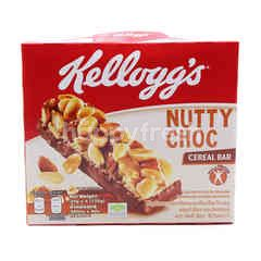 Kellog's Nutty Chocolate Cereal Bar (4 Pieces)