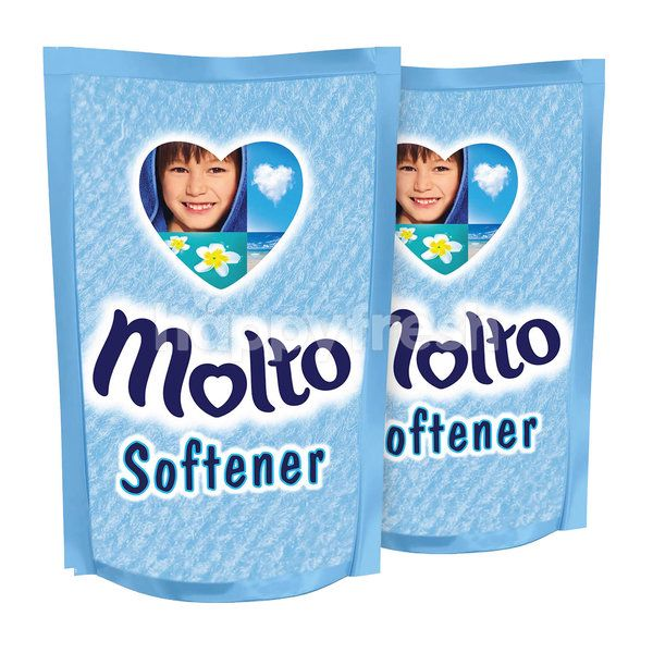 Molto Softener Spring Blue Twinpack