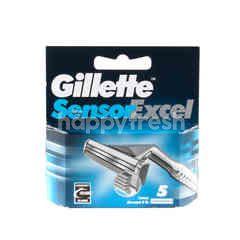 GILLETTE Sensor Excel Refillable Shaving Razor