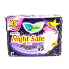 Laurier Night Safe - 35cm - For Extra Heavy Flow