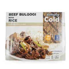 Simply Cold Sapi Bulgogi dengan Nasi