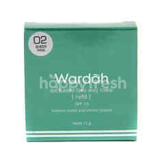 Wardah Exclusive Two Way Cake Shade 02 Sheer Pink Refill