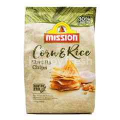 Misson Gluten Free Corn & Rice Tortilla Chips