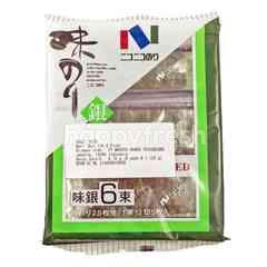 Nico-Nico Aji Gin Nori Seasoned Seaweed