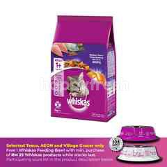 Whiskas Cat Dry Food Adult Mackerel 3KG Cat Food