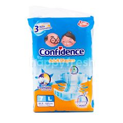 Confidence Adult Diapers Size L with Aloe Vera Extract (10 pieces)