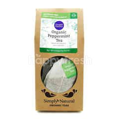SIMPLY NATURAL Organic Peppermint Tea
