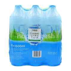 Tesco Natural Mineral Water (6 Bottles x 1500ml)