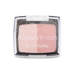 SILKYGIRL Shimmer Duo Blusher 04 Sunny Glow