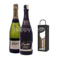 Freixenet Cardon Negro + Vintage Reserva Get Riedel Flute Glass Free