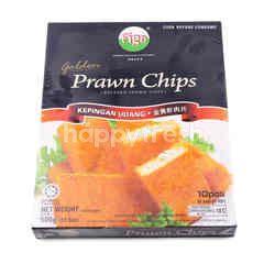 Figo Golden Breaded Prawn Chips (10 Pieces)