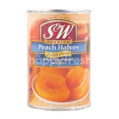 S&W Premium Peaches Halves Extra Firm