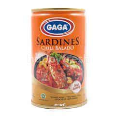 Gaga Ikan Sarden Saus Balado