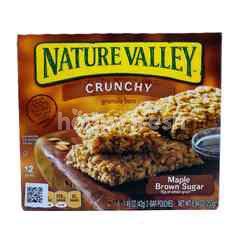 Nature Valley Crunchy Granola Bar Sirup Mapel Gula Merah