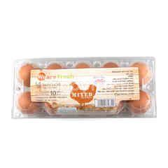 วีอาร์เฟรช ไข่ไก่คละขนาด จำนวน 10 ฟอง