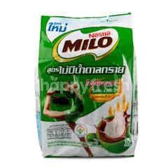 Nestle เนสเล่ ไมโล เครื่องดื่มรสช็อกโกแลตมอลต์ปรุงสำเร็จ ชนิดผง สูตรไม่มีน้ำตาลทราย