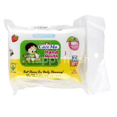 Care Mo Hand & Mouth Wet Wipes