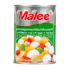 Malee Fruit Cooktail Mixed Longan In Syrup
