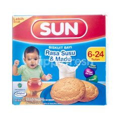 Sun Baby Biscuit 6-24 Months Old Milk and Honey Flavor