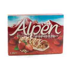 อัลเพน รสสตรอเบอร์รีและโยเกิร์ต