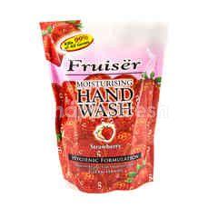 FRUISER Moisturising Hand Wash - Strawberry (Refill Pack)