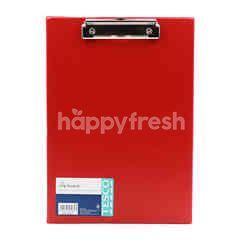 Tesco Red A4 Clip Board