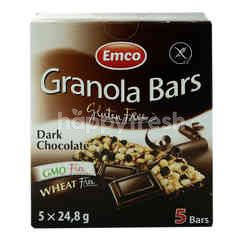 Emco Granola Bars Dark Chocolate