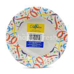 Dolphin Party Paper Plate (20 Plates)