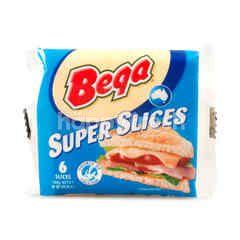 Bega Super Slices Cheddar Cheese (6 Pieces)