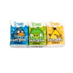 Tessa Angry Birds Edition Pocket Tissue (6 packs)