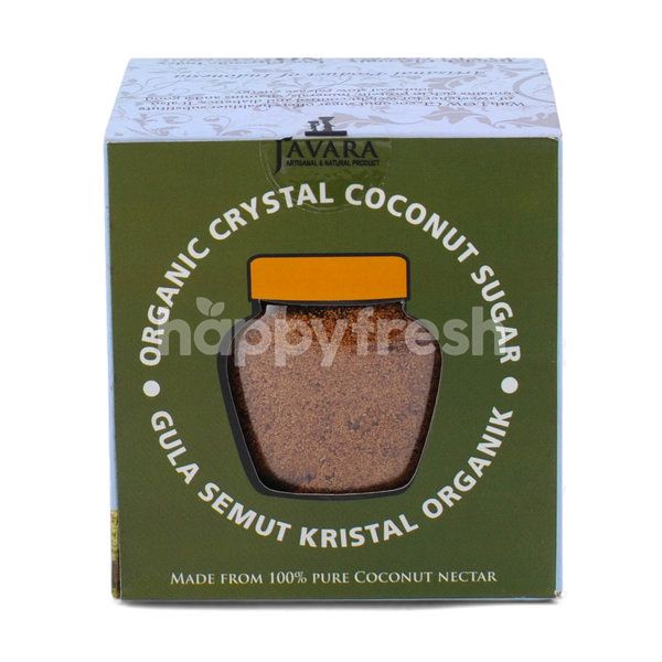 Javara Organic Crystal Coconut Sugar with Ginger